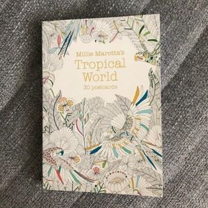 "Other - ""Millie Marotta's Tropical World"" 30 postcards"